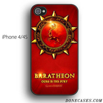 House Baratheon game of thrones case for iPhone 4[S]