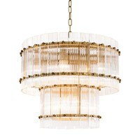 2 Tier Glass Chandelier - S | Eichholtz Ruby