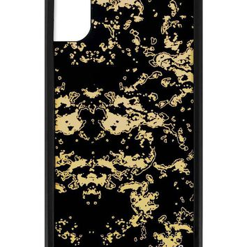 Black Gold iPhone X Case