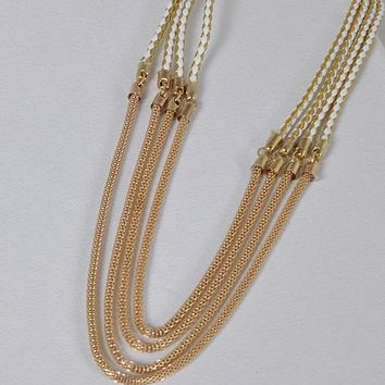 Multi Strand Snake Chain Necklace id.31470