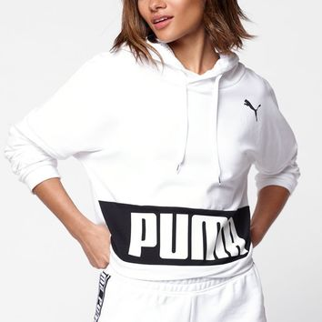 White Urban Sports Hoodie - white | PacSun