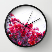 Touch of Love Wall Clock by Armine Nersisian