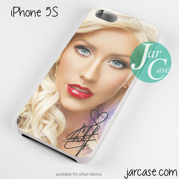 Christina Aguilera Red Lips Phone case for iPhone 4/4s/5/5c/5s/6/6 plus