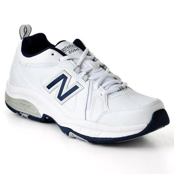 new balance 608 cross trainers men white