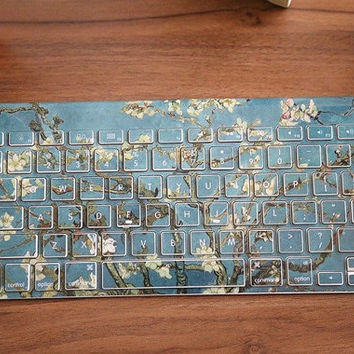keyboard decal mac pro decals stickers sticker Apple Mac laptop vinyl xinghua fangao