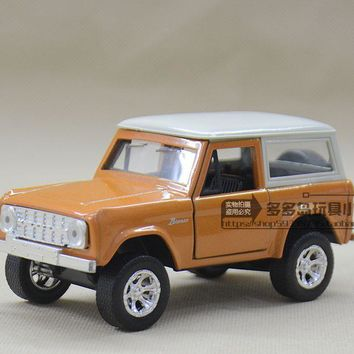 JADA 1:32 scale High simulation alloy model car,1973 FORD BRONCO suv,quality toy models,free shipping