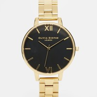 Olivia Burton Gold Big Dial Watch