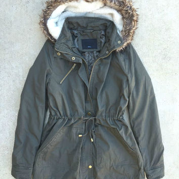 Cozy Northern Forecast Parka in Olive