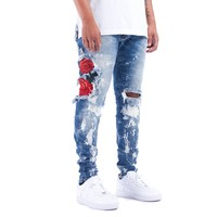 THE UNION ROME DENIMS IN BLUE