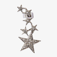 Diamond Shooting Star Ear Cuff