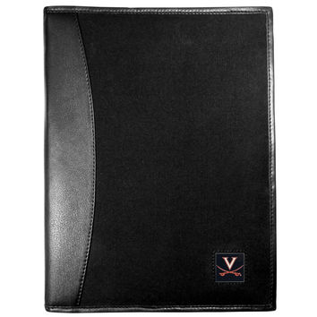 Virginia Cavaliers Leather and Canvas Padfolio CPAD78