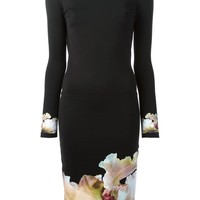 Givenchy floral jersey dress