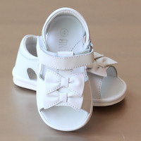 Angel Baby Girls Double Bow Sandal