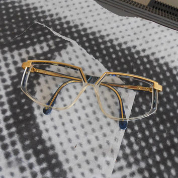 Rare CAZAL Early Eighties vintage made in germany glasses eyewear - 80s iconic spectacles fashion Sold with Original Box