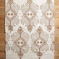 Gilt Stitch Rug by Anthropologie
