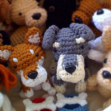 Custom Crochet dog Amigurumi dog stuffed animal Doll Choose a Breed / Made to Order