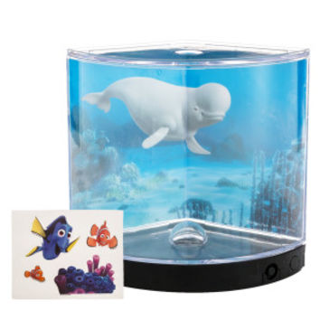 Finding Dory Pie Shaped Betta Aquarium