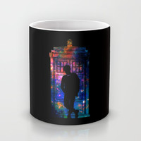 Space Tardis 11th Doctor Mug by BomDesignz