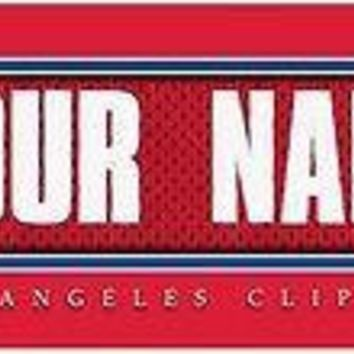 Basketball-NBA Jersey Stitch Print Los Angeles Clippers Personalized NEW