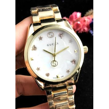 GUCCI 2019 new personality simple and versatile quartz watch #2