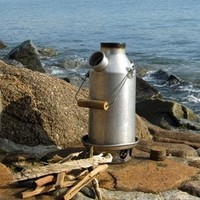 Kelly Kettle Camping Kettle: Scout Complete Kit: Aluminum
