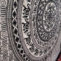 Elephant Mandala Tapestry, Hippie Tapestries, Wall Tapestries, Tapestry Wall Hanging, Indian Tapestry, Bohemian Bedding Psychedelic Tapestry