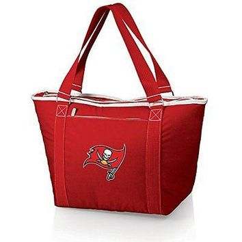 PICN-619001003042-NFL Tampa Bay Buccaneers Topanga Insulated Cooler Tote, Red