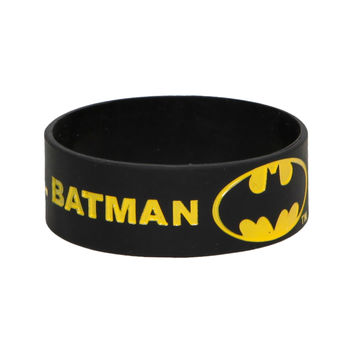 DC Comics Batman Keep Calm And Call Rubber Bracelet