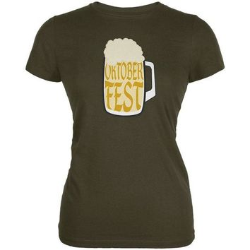 DCCKU3R Oktoberfest German Beer Stein Juniors Soft T Shirt