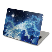 SkinATBlue Galaxy Sky Sticker Decal For Macbook