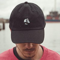 Natty Boh Logo (Black) / Baseball Hat