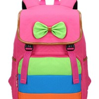 Okend Girl's Cute School Backpack Book Bag