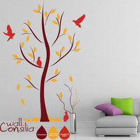 Abstract Tree Decal Tree Wall Decal Wall Sticker by WallConsilia