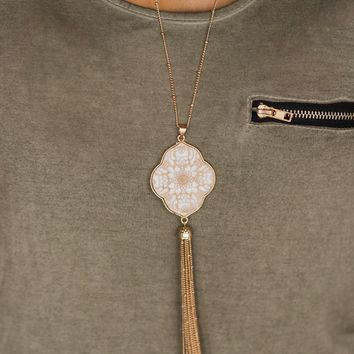 Favorite Tassel Necklace