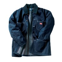 Denim Blanket-Lined Chore Coat | DKS-3494 | Outerwear & Jackets | WorkwearUSA