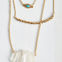 Boho That Gorgeous Glow Necklace by ModCloth