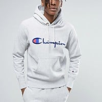 Champion Hoodie With Large Logo at asos.com