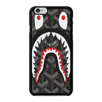 Shark Bape Goyard iPhone 6/6S Case