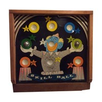 "Pre-owned 1940's-50's Painted ""Skill Ball Game"""