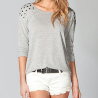 FULL TILT Studded Womens Tunic