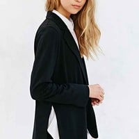 Silence + Noise Side-Slit Blazer