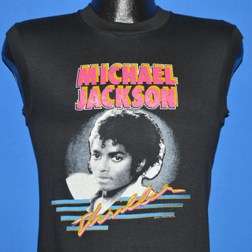 80s Michael Jackson Thriller Deadstock t-shirt Extra Small