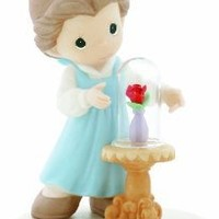 "Precious Moments Disney ""Our Love Is Forever In Bloom"" Figurine"