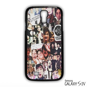 5 SOS Seconds Of Summer for phone case Samsung Galaxy S3,S4,S5,S6,S6 Edge,S6 Edge Plus phone case
