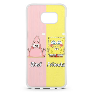 Spongebob Squarepants And Patrick Best Friends Forever Samsung Galaxy S7 Edge Case