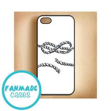 Infinity Rope tattoo iPhone 4/4s, 5/5s/5c, iPod 4/5, Samsung Galaxy s3/s4 Rubber Case