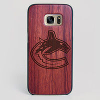Vancouver Canucks Galaxy S7 Edge Case - All Wood Everything