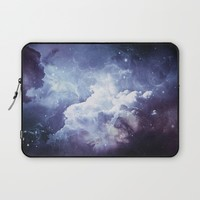 A Sky Made of Diamonds Laptop Sleeve by Adaralbion
