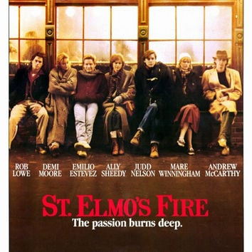 St. Elmo's Fire 11x17 Movie Poster (1985)