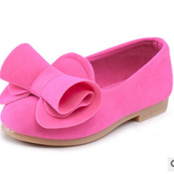 Bowknot Girls  shoes